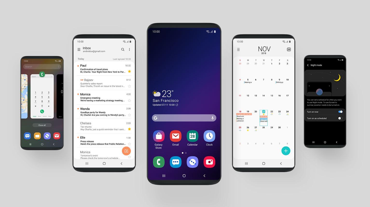 العملاقة Samsung تطلق النسخة التجريبية الثانية من نظام أندرويد 9 باي لهواتفها