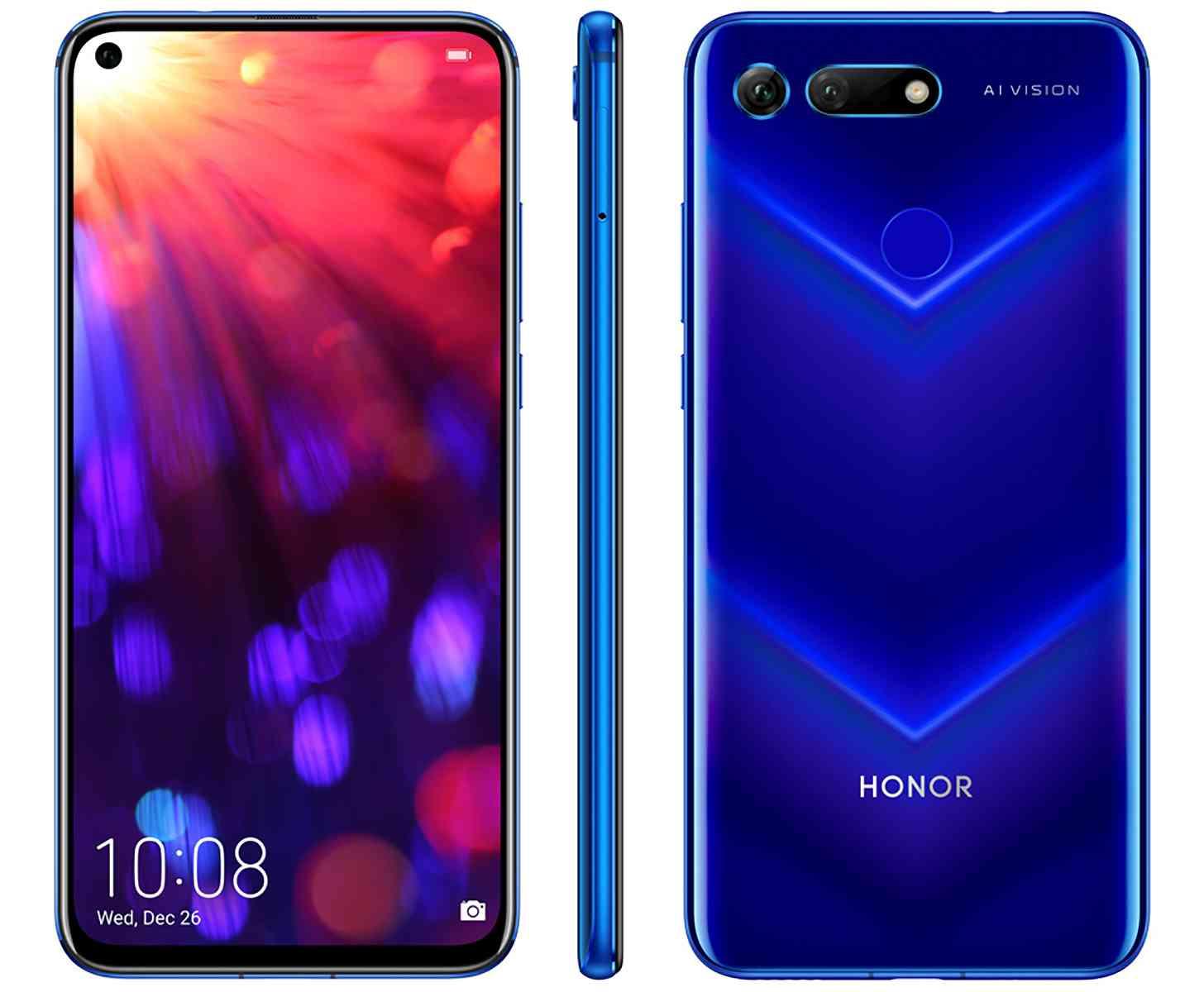 المقارنة الكاملة بين هاتفي الثقب في الشاشة هاتف Samsung Galaxy A8s وهاتف Honor View 20
