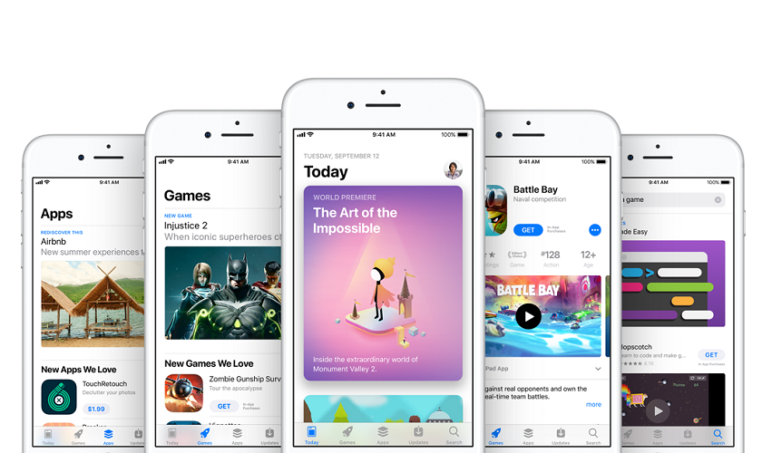 الإعلان عن أفضل التطبيقات والألعاب على متجر آب ستور لهواتف iPhone وأجهزة iPad