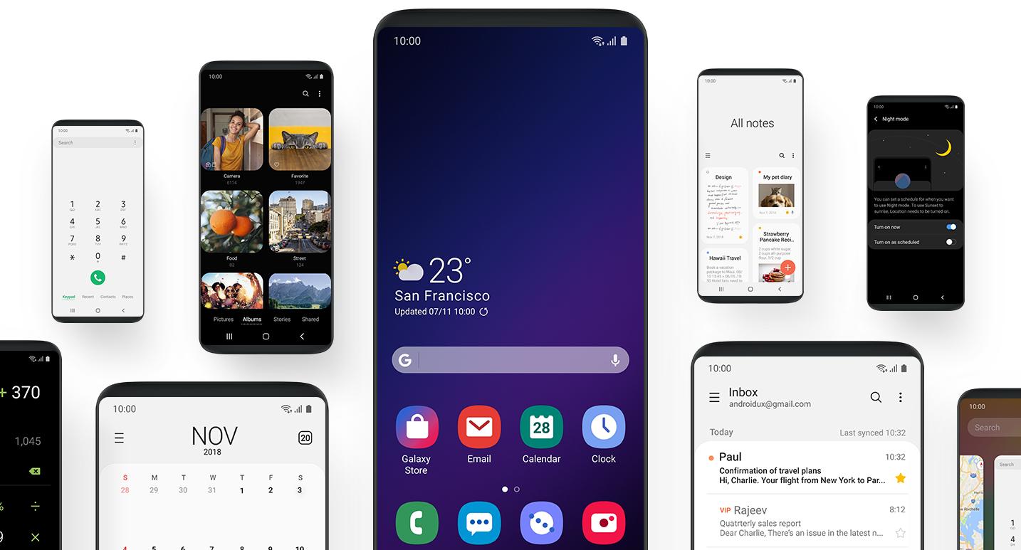 القائمة الكاملة لهواتف Samsung التي ستحصل على ترقية أندرويد 9 باي خلال 2019