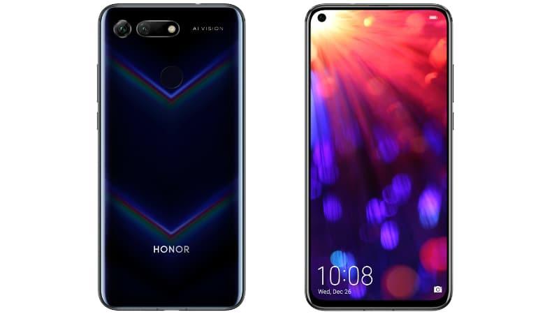 الكشف رسميًا عن هاتف Honor V20 الجديد بثقب للكاميرا الأمامية وكاميرا خلفية جبارة