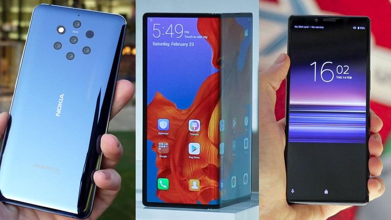أبرز الهواتف الذكية الرائدة التي تم الإعلان عنها خلال فعاليات MWC 2019