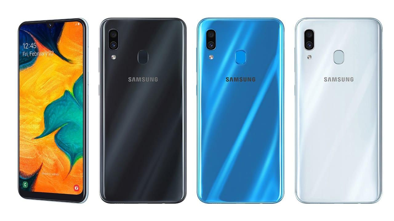 سامسونج تعود للسيطرة الفئة الاقتصادية Samsung-Galaxy-A30-F