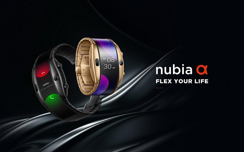 الهاتف الذكي القابل للارتداء حول المعصم Nubia Alpha يصل إلى الأسواق العالمية اليوم