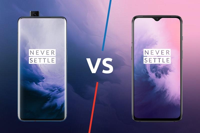 الاختلافات بين هاتفي OnePlus الرائدين OnePlus 7 Pro وOnePlus 6T
