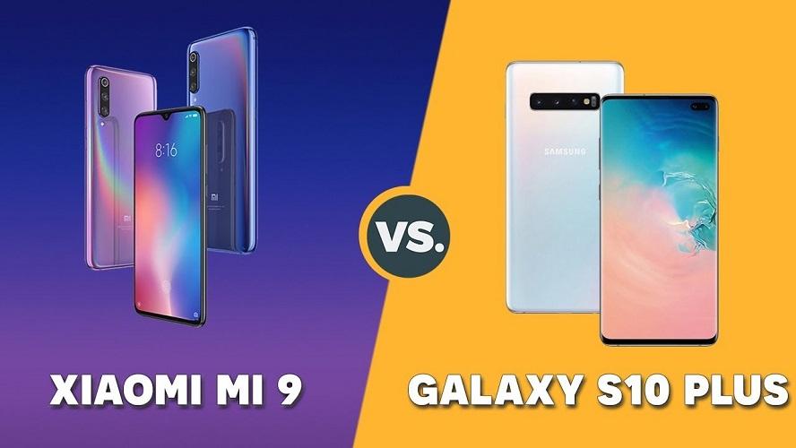 مقارنة الكبار ... هاتف Samsung Galaxy S10 Plus وهاتف Xiaomi Mi 9