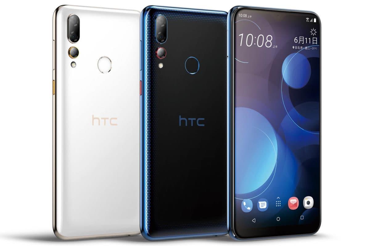 مراجعة مواصفات هاتف HTC  متوسط الفئة الجديد HTC Desire 19 Plus