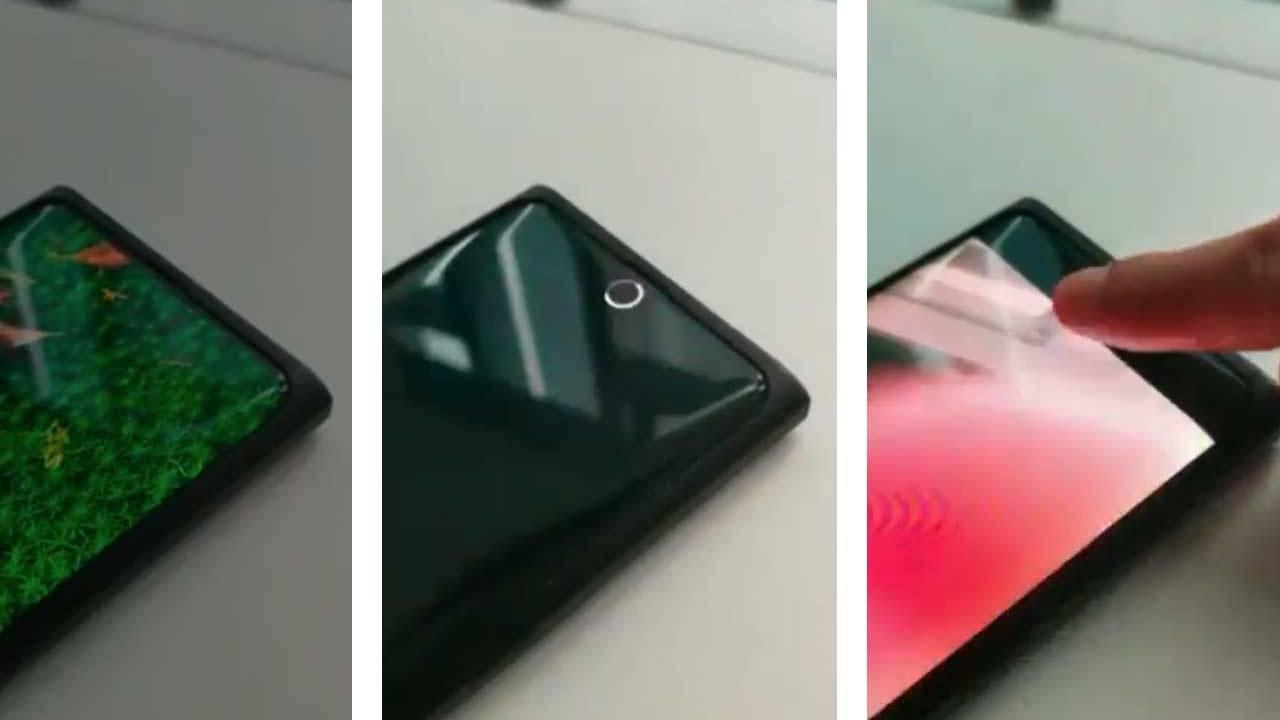 شركة Oppo تستعرض تصورها لأول كاميرا أمامية مدمجة أسفل الشاشة في العالم