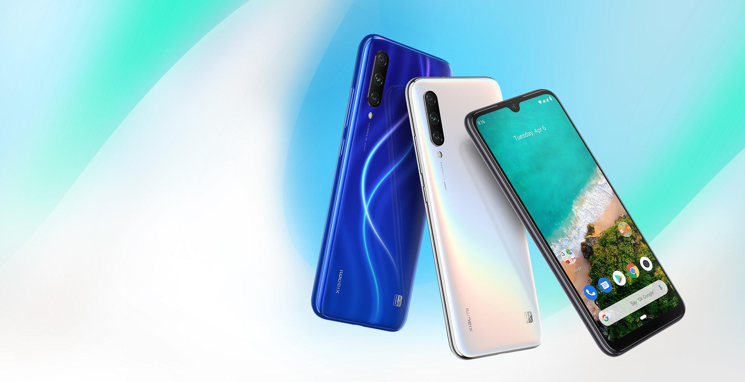 مقارنة بين أبزر هواتف الفئة المتوسطة هاتف Xiaomi Mi A3 وهاتف Redmi Note 7