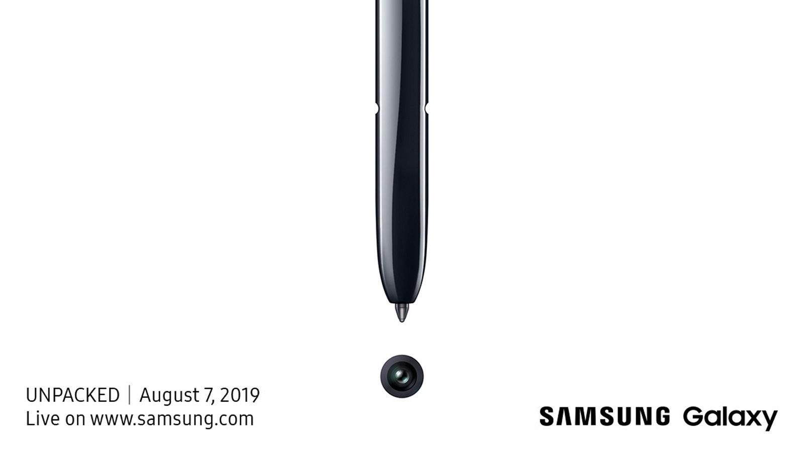 سامسونج تستعد للإعلان عن Samsung Galaxy Note 10 في 7 اغسطس القادم