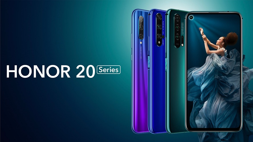 وأخيرًا طرح مجموعة هواتف Honor 20 الجديد رسميًا في السوق المصري