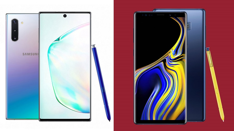ماذا تغير في Samsung Galaxy Note 10 عن Samsung Galaxy Note 9