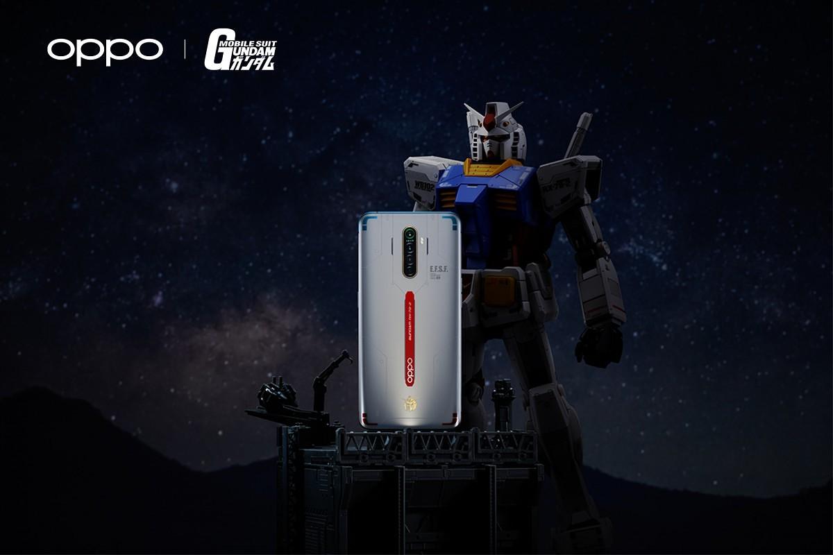 Oppo تعلن عن هاتف Reno Ace Gundam
