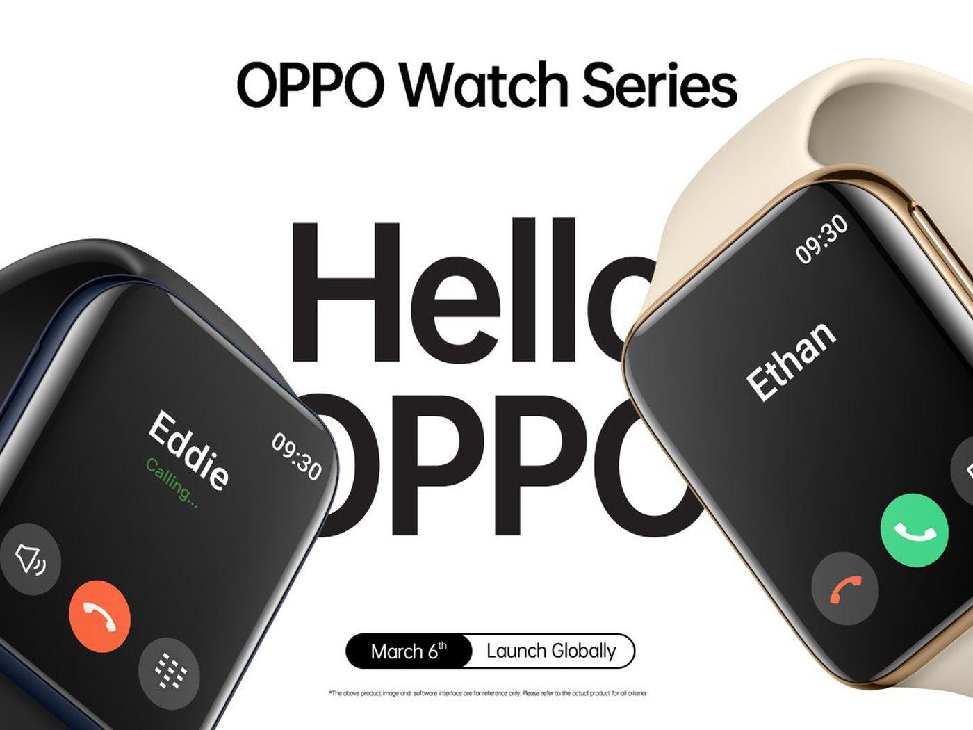 تعرف على ساعة Oppo Watch الجديدة
