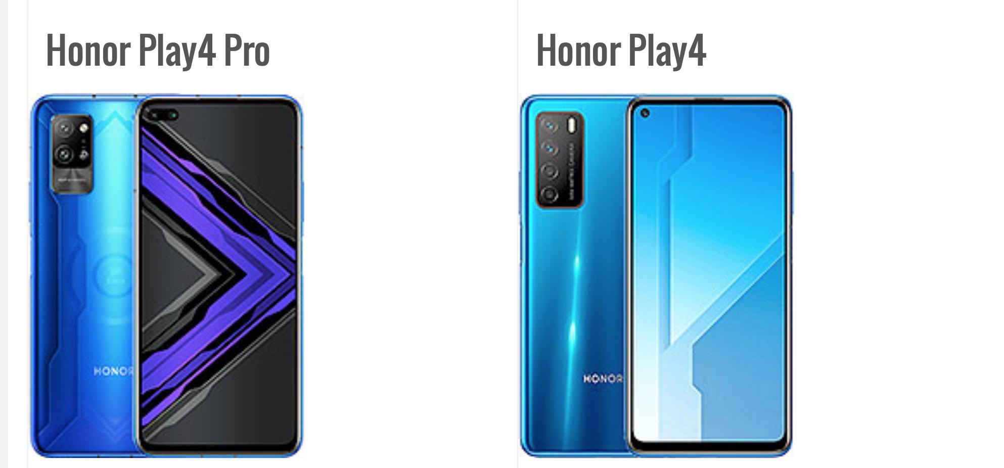 Honor تعلن عن هاتف Honor Play 4 و Honor Play4 Pro