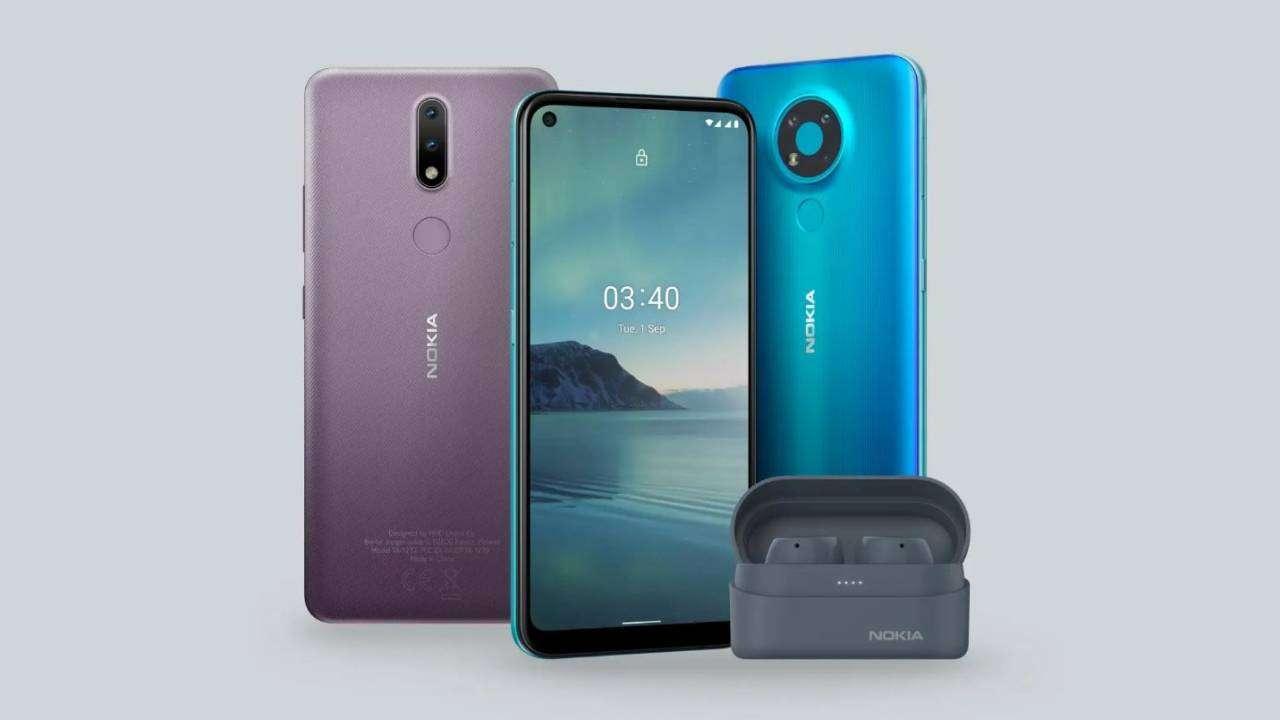 صورة HMD تكشف عن هاتفي Nokia 2.4 و Nokia 3.4 منخفضي التكلفة