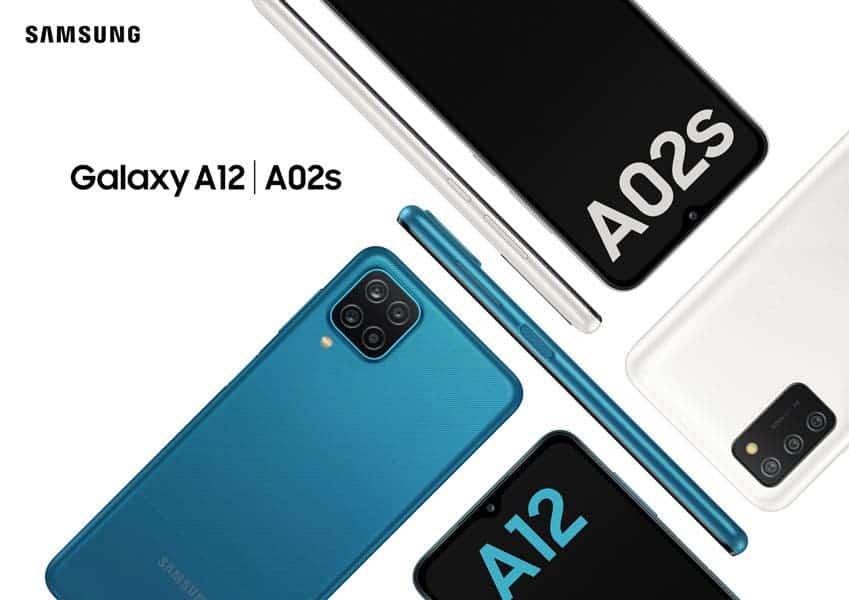سامسونج تعلن عن مواصفات هاتفي Galaxy A12 و Galaxy A02s