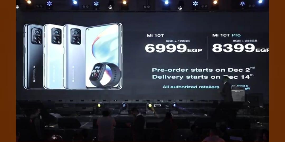 """صورة تغطية مؤتمر التحفة """"Masterpiece"""" من شاومي للإعلان عن هاتفي Mi 10T و Mi 10T Pro في مصر"""
