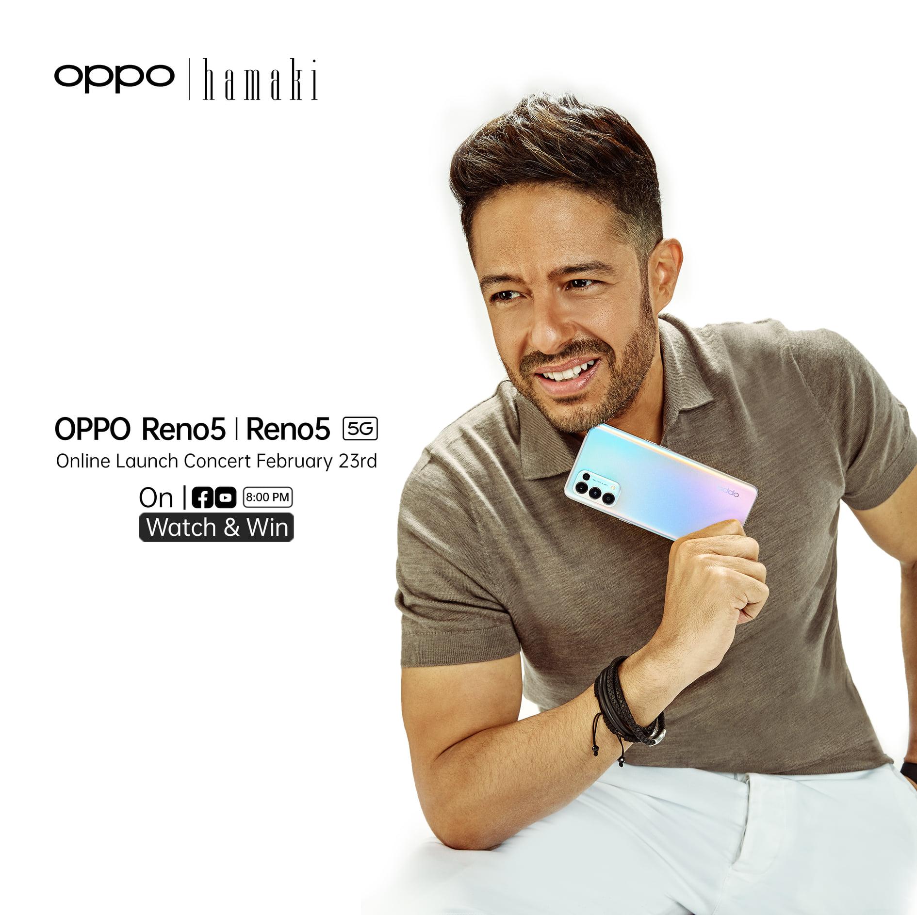 متابعة الإعلان عن هواتف Oppo Reno5 في السوق المصري