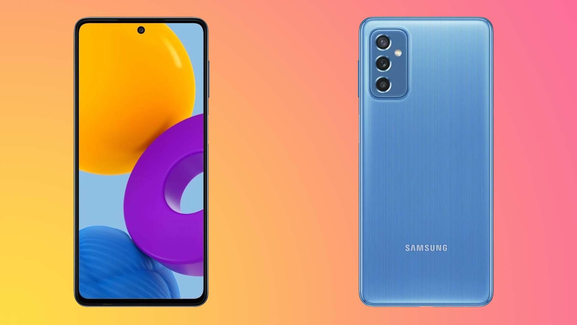 الكشف عن هاتف Samsung Galaxy M52 5G