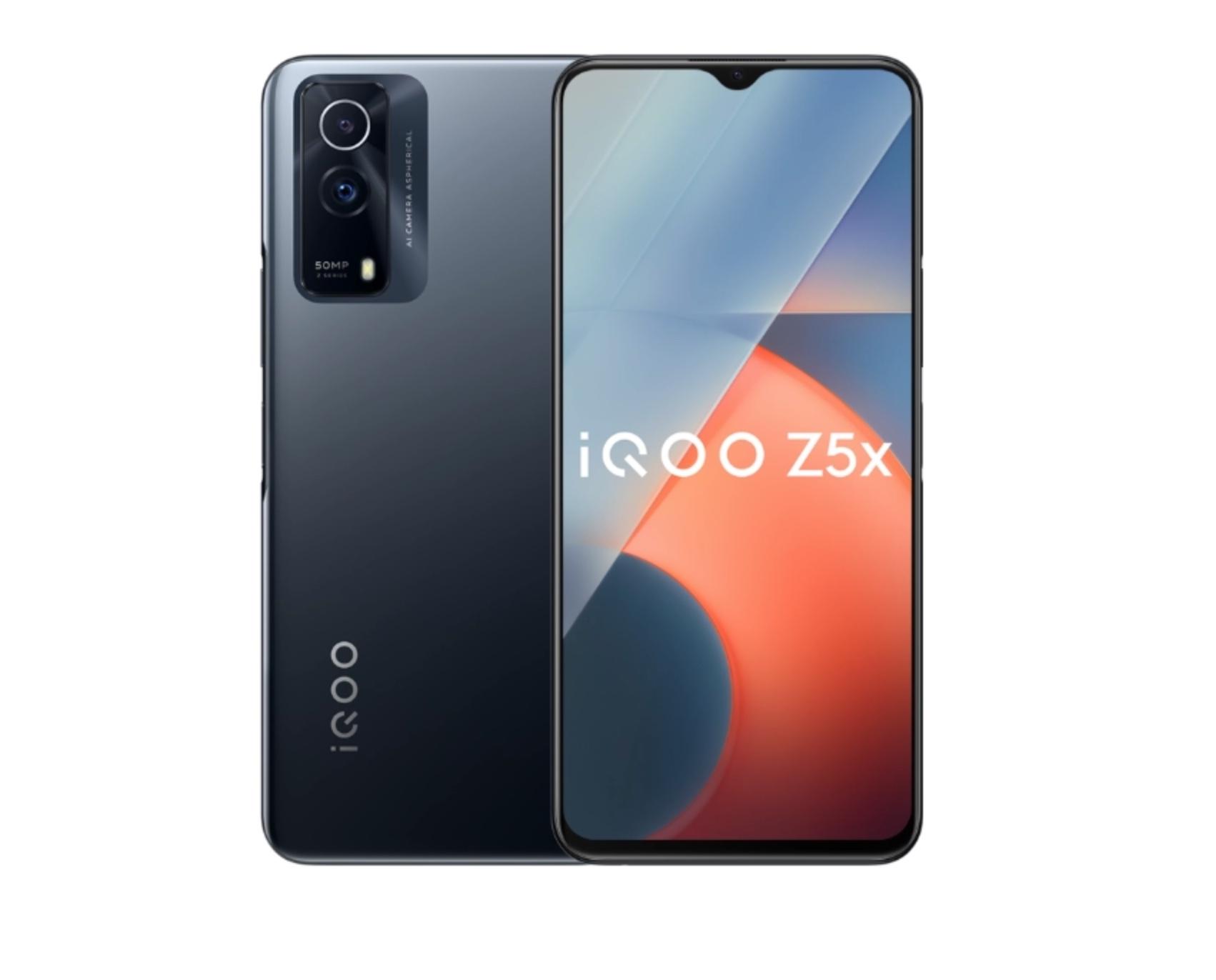 تفاصيل الاعلان عن هاتف vivo iQOO Z5x بشاشة ١٢٠ هرتز ومواصفات قوية