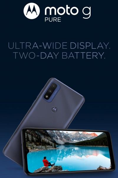 صورة تعرف على هاتف Motorola G Pure الجديد للفئة الاقتصادية
